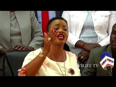 LAIKIPIA WOMAN REP CATE WARUGURU,,,,ORENGO IS OUT OF FASHION AND VERY OLD TO THINK OF IMPEACHING DP
