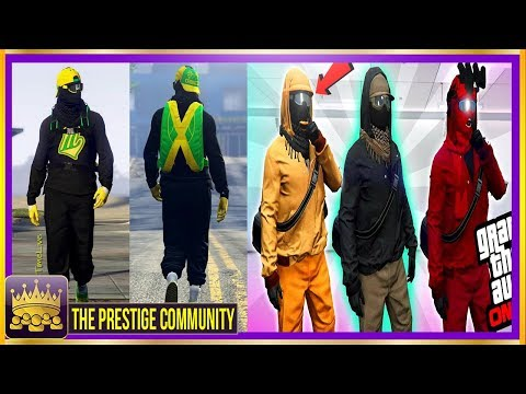 *4 BADASS* MODDED OUTFITS You MUST Have! GTA 5 Modded Outfit Glitches 1.41 (Easy Clothing Glitches)