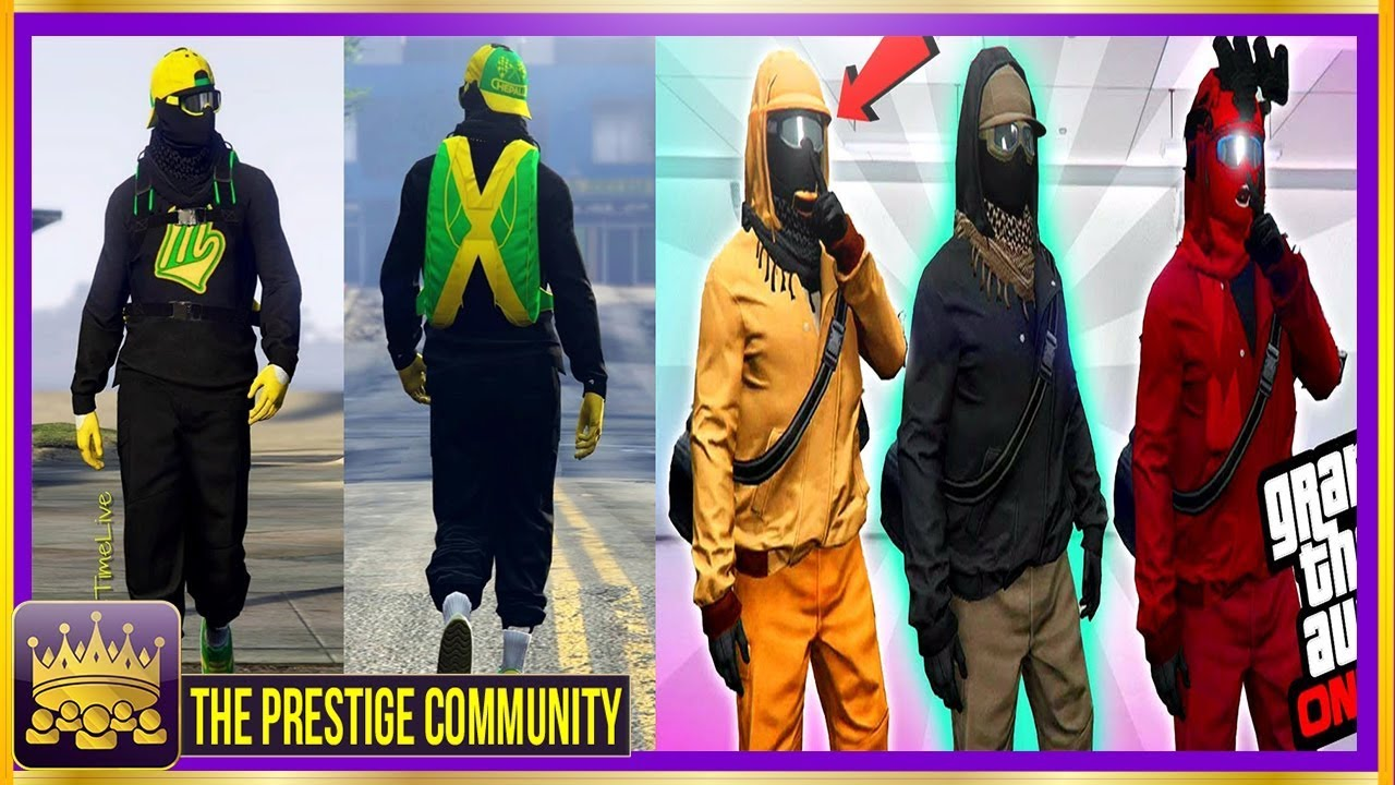 *4 BADASS* MODDED OUTFITS You MUST Have! GTA 5 Modded Outfit Glitches 1.41 (Easy Clothing ...