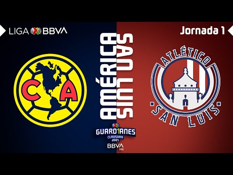 Club America San Luis Goals And Highlights