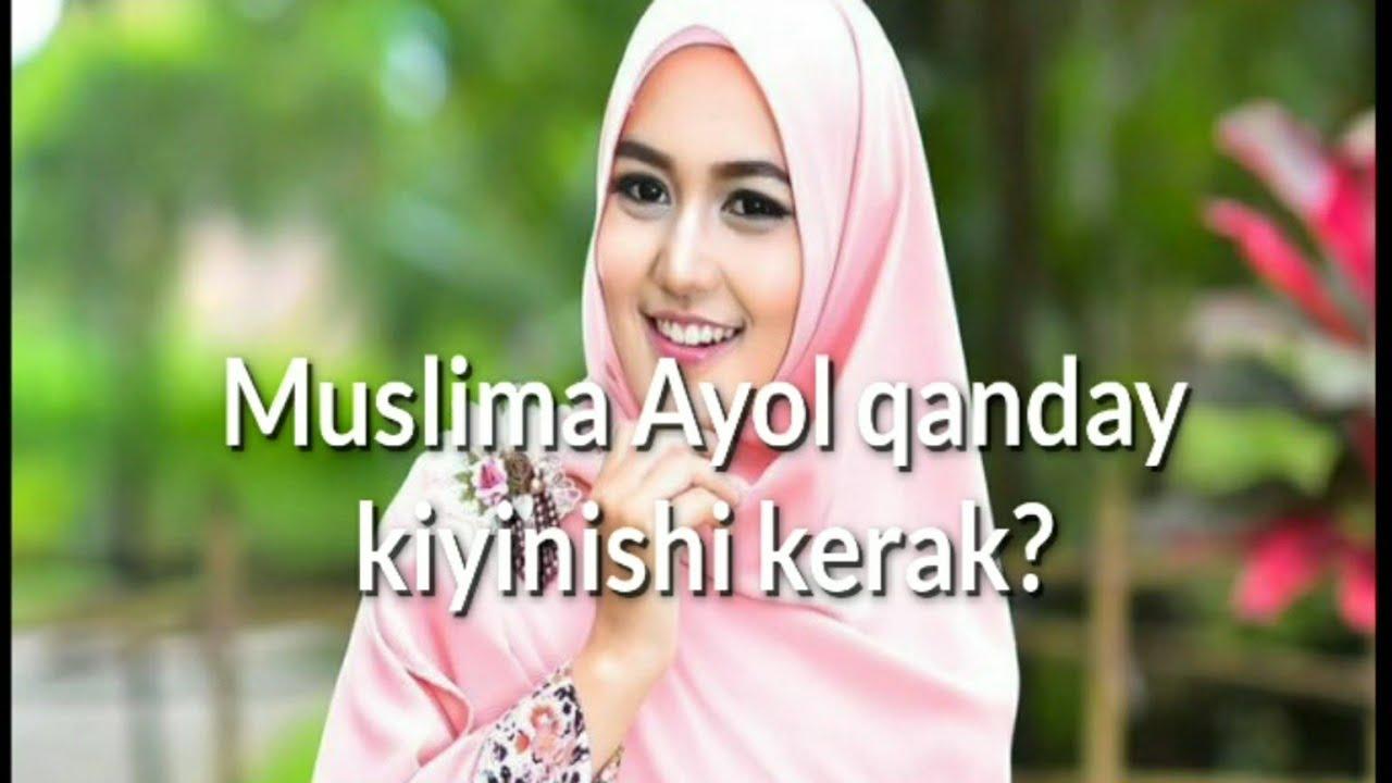 Muslima Ayol qanday kiyinishi kerak shayx Muhammadsodiq Muhammadyusuf javoblari