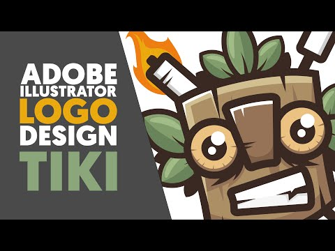 Adobe Illustrator | Logo design / Illustration | TIKI | Shard