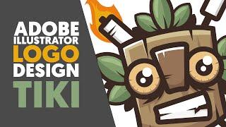 Adobe Illustrator | Logo design / Illustration | TIKI | Shard