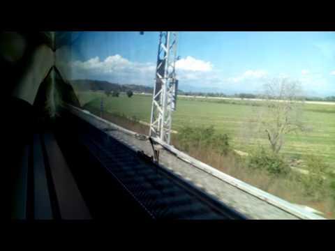 Da Roma Termini a Milano Centrale con ETR 1000 Frecciarossa 1000 - Parte 1