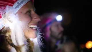 Simplicity - Burning Man Balloon Chain 2013