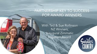 """Partnership key to success for award winners"" with Ted & Sue Rollinson"