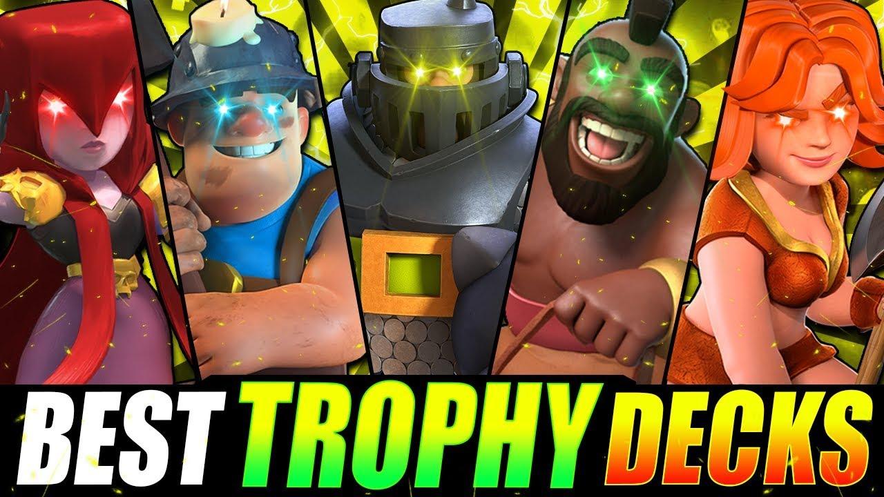 New Top 5 Strongest Decks In Clash Royale Fast Trophy Decks