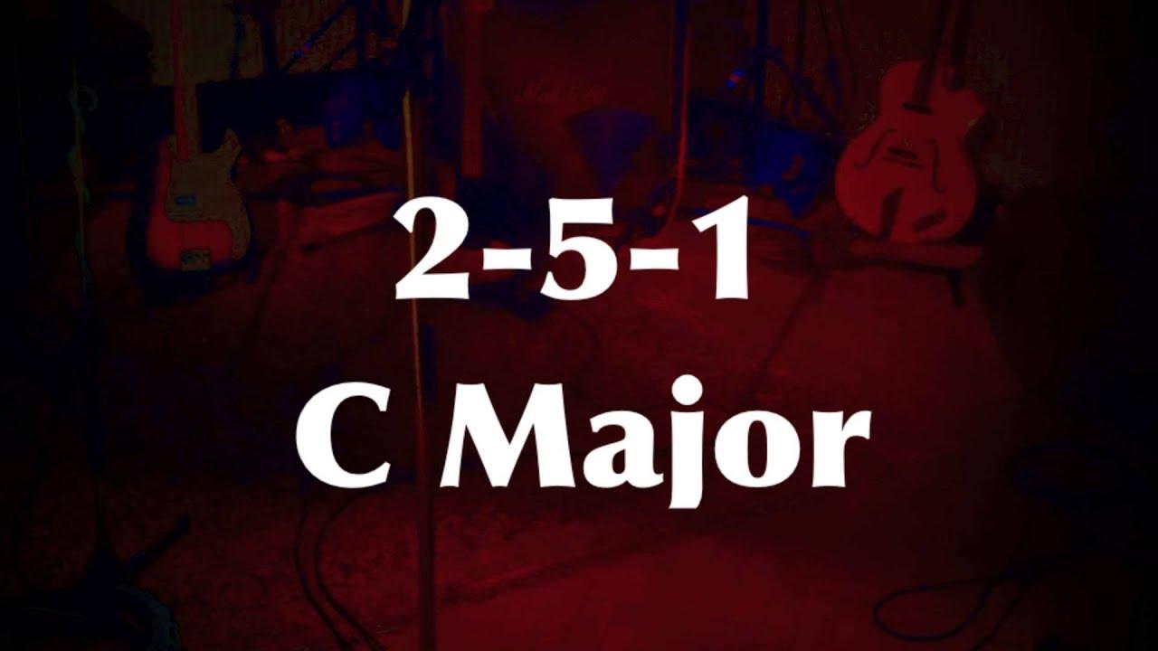Download 2-5-1 Medium Swing Jazz Practice Backing Track (C Major) - Quist