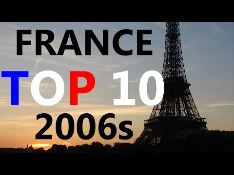 France Top 10 singles of the 2006s