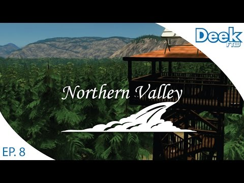 Let's Design Northern Valley Ep.8 - Building the National Park and Campground - Cities Skylines