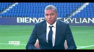 Kylian Mbappé, first day interview at Paris Saint-Germain - PSG