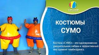 Костюмы СУМО и командные аттракционы, производитель АэроМир