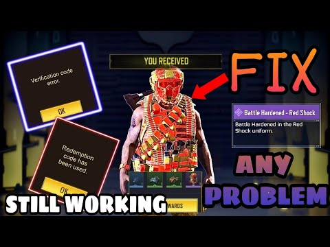 HOW TO FIX ANY ERROR IN CODM REDEMPTION CENTER | HOW TO GET FREE SKIN COD MOBILE | REDEEM CODE 2021