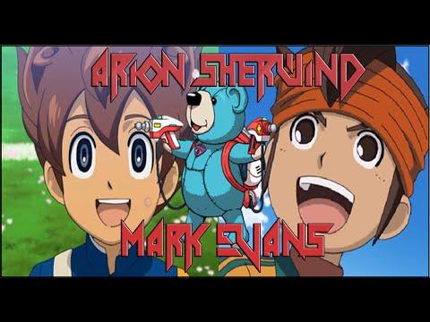 Mixi Max: Mark Evans y Arion Sherwind [Inazuma Eleven Go! Chrono Stones]