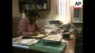 INDIA: CONGRESS PARTY CONFIRM ELECTION OF SITARAM KESRI AS PRESIDENT