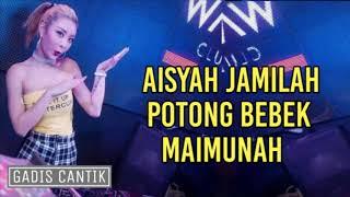 Download DJ AISYAH JAMILAH POTONG BEBEK MAIMUNAH SLOW 2018