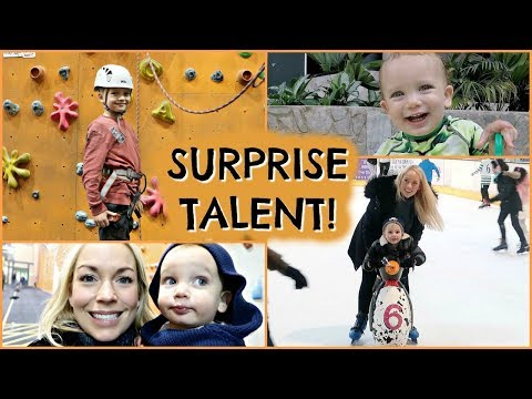 A SURPRISE TALENT!  |  FAMILY DAY IN THE LIFE VLOG  |  EMILY NORRIS AD