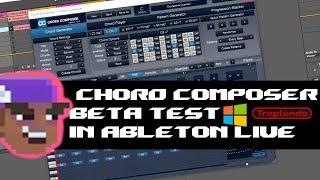 Chord Composer Music Theory Plugin Windows Beta Test   Ableton Live 10