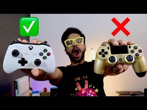 I WAS WRONG || DUALSHOCK 4 V/S XBOX ONE CONTROLLER In 2019