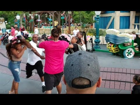Video: Violent Fight Breaks Out Between Family at Disneyland