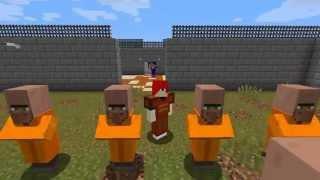 Repeat youtube video Minecraft ผจญภัย Map : The Escapists 2 ตอนที่ 1 : วันแรกในคุก