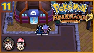 The Boys capture and train fighting type Pokémon in preparation for the battle against the Goldenrod City Gym Leader Whitney