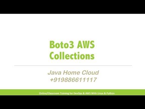 AWS - Boto3 Collections - PakVim net HD Vdieos Portal