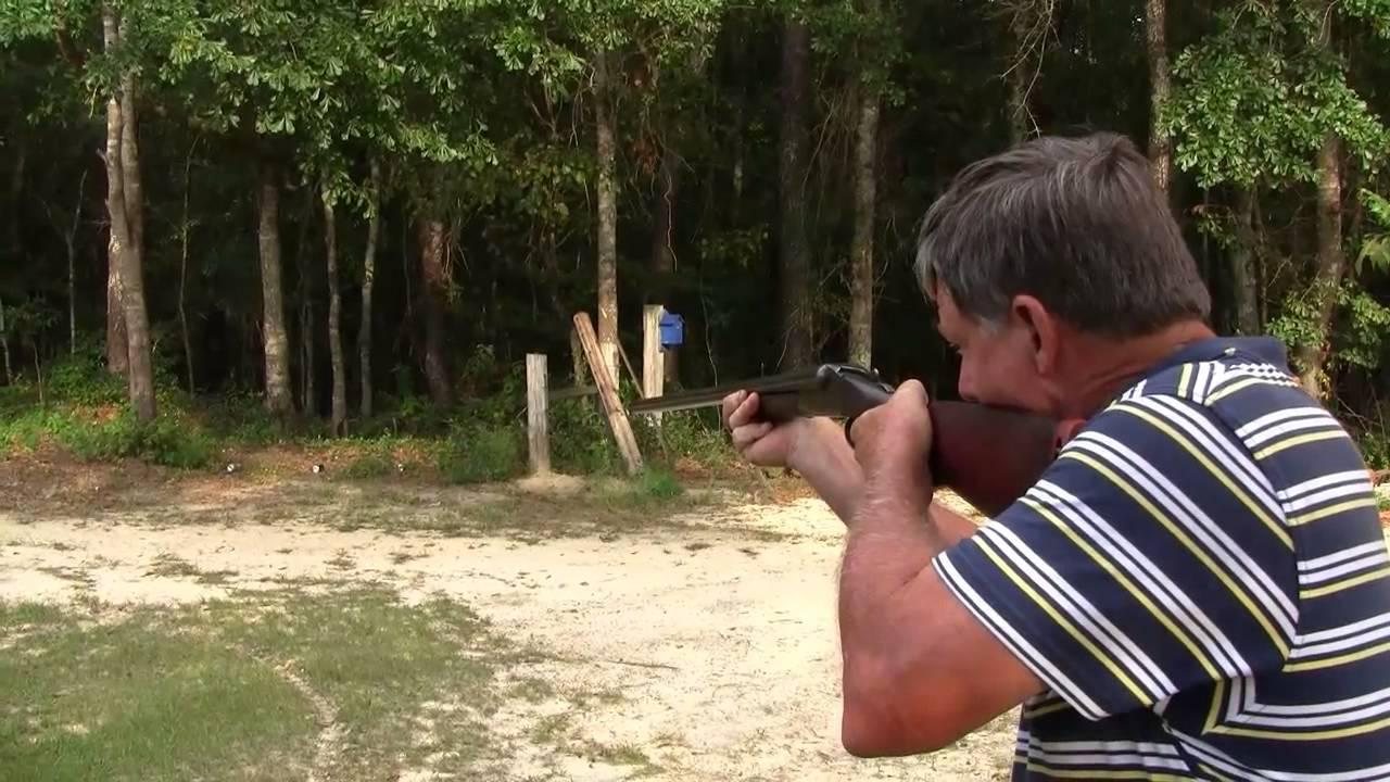 Ithaca Long Range Shotgun - Double Barrel 12 gauge