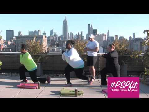Plus Size at Home Cardio Workouts (#PSPfit)!
