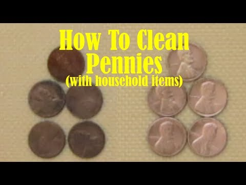 How to Clean Pennies (with products you have around the house) 💰