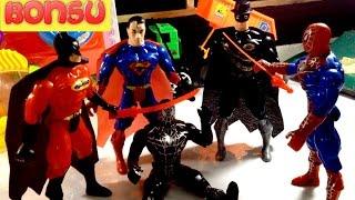 Đồ Chơi Trẻ Em Cho Bé Trai  Mở Hộp Đồ Chơi Siêu Nhân - Unboxing Toys For Kids Superman