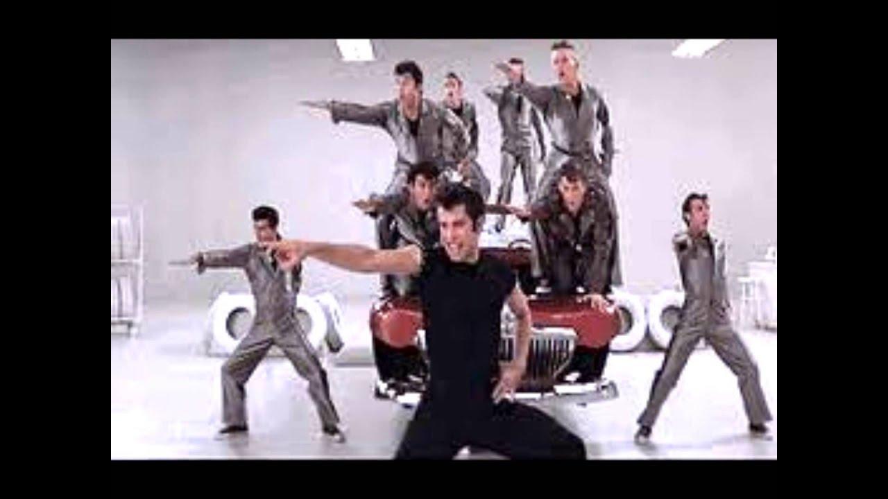 John Travolta Jeff Conaway Greased Lightning