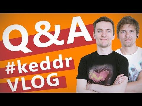 Ноутбук для студента? Ноутбук для программиста? What's App или Viber? Q&A KeddrVLOG 2.0 (E20)
