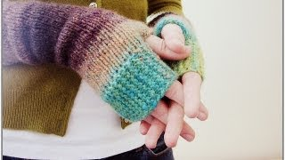 How to Crochet SIDEWAYS MITTENS