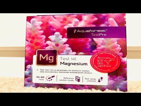 Testing The Aquaforest Magnesium Test Kit