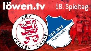 löwen.tv • KSV Hessen Kassel - TSG 1899 Hoffenheim II (2:0)