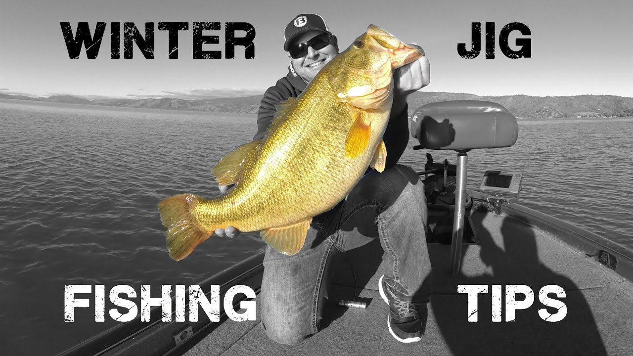 Winter jig fishing tips and tricks youtube for Jig fishing tips