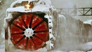 Мегамашины - Железнодорожный снегоуборщик