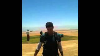 Skydiving in massada 2