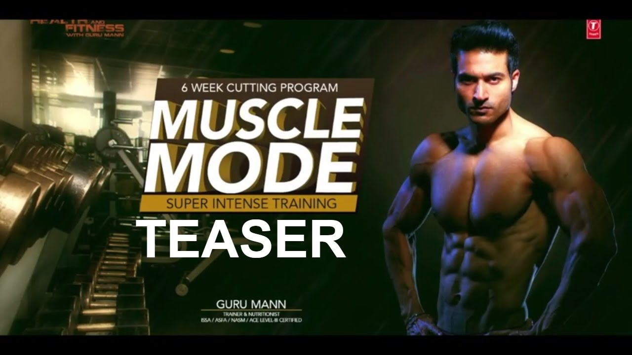 Teaser - Muscle Mode    6 weeks cutting program