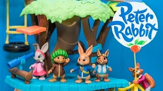 Unboxing the Peter Rabbit Adventure Treehouse Toy