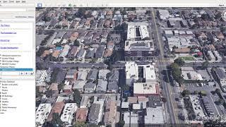 Dunbar Hotel Los Angeles Google Earth Pro tour