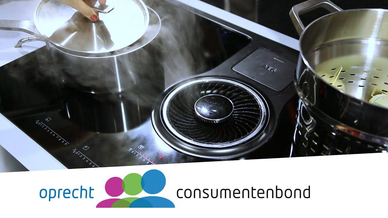 Downdraft afzuigkappen kooptips consumentenbond youtube