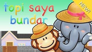Lagu anak Indonesia | Topi Saya Bundar