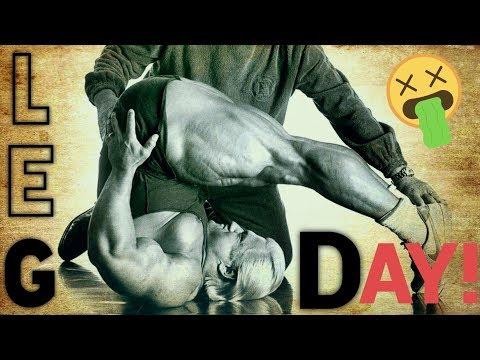 LEG DAY with TOM PLATZ - Bodybuilding Lifestyle Motivation