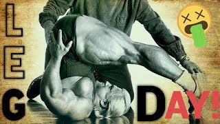 LEG DAY with TOM PLATZ - Bodybuilding Lifestyle Motivation
