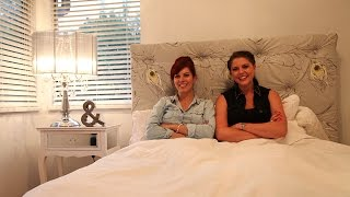 Kim + Cindy: Under The Pinfluence: Diy Tufted Headboard