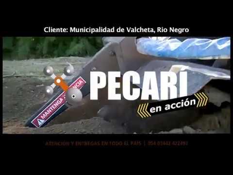 Zanajador para la Municipalidad de Valcheta - Río Negro | Enero2018