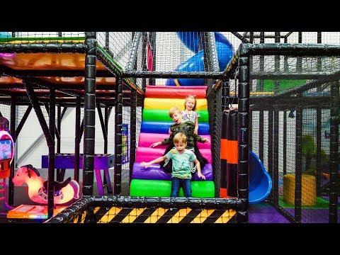 Fun Indoor Playground for Kids at Barnens Lekstad