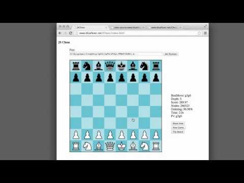 Programming A Chess Engine In Pure Javascript Part 1 - Introduction